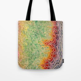 Vines and Flames Tote Bag