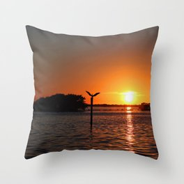 No Sleepless Nights Throw Pillow