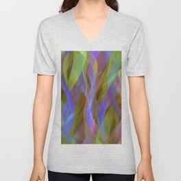 Abstract background G137 Unisex V-Neck