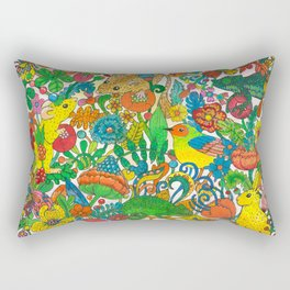 Tiny world Rectangular Pillow