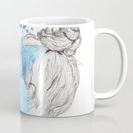Messy Bun Coffee Mug