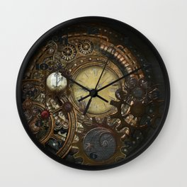 Steampunk Clocks Wall Clock