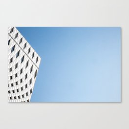 Blue Sky and Architecture Canvas Print