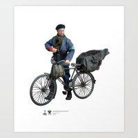 One Sixth Custom Figure 13 Art Print