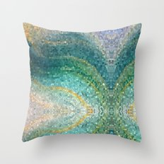 The Mermaid's Tail Throw Pillow