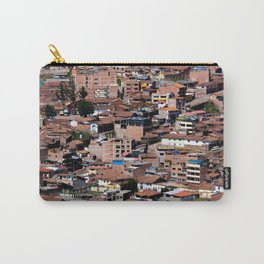 Rooftops of Peru Carry-All Pouch