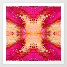 Crystalix Art Print
