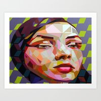 scuba Art Prints featuring Scuba by Funda Mental