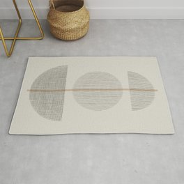 Geometric Composition Rug