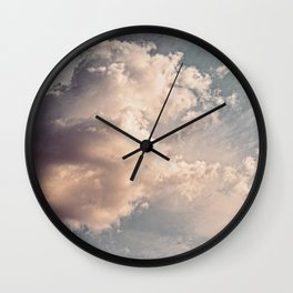 The Clouds #2 Wall Clock