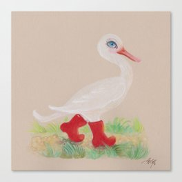 a Snozzleberry Swan excursion Canvas Print