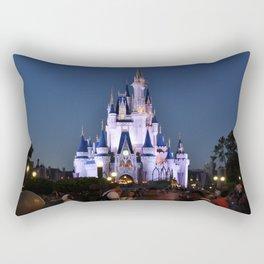 Cinderella's Castle II Rectangular Pillow