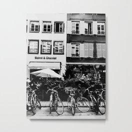 french buildings Metal Print
