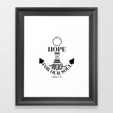 Hope Framed Art Print