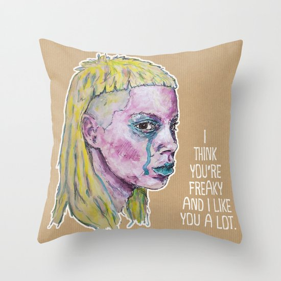 Yo-Landi Visser Throw Pillow
