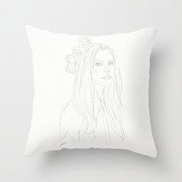 STAR COLLECTION | LANA DELREY Throw Pillow