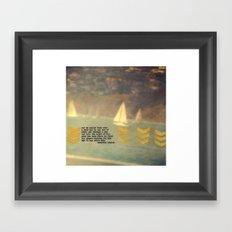 Hot Supper Framed Art Print
