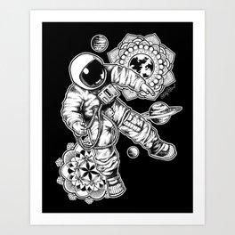Astronaught Art Print