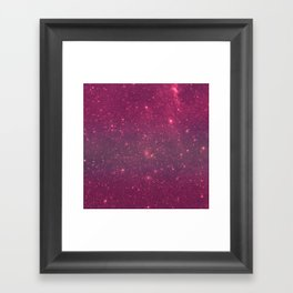 Pink Space Framed Art Print