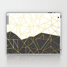 Ab Half and Half White Gold Laptop & iPad Skin