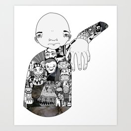 Claw Art Print