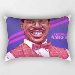 Coming to America by Tom Walker Rectangular Pillow