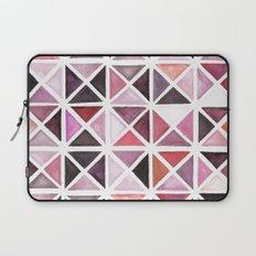 Geometric watercolor Laptop Sleeve