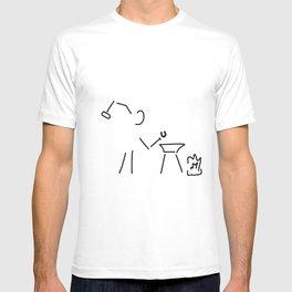 smith hufeisen amboss T-shirt