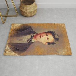 Arthur Rimbaud, Literary Legend Rug