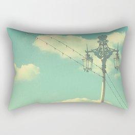 Lights of Brighton Rectangular Pillow