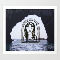 Sailing to Anacapa Art Print