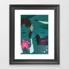 take it all Framed Art Print