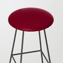 Solid Color Series - Burgundy Red Bar Stool