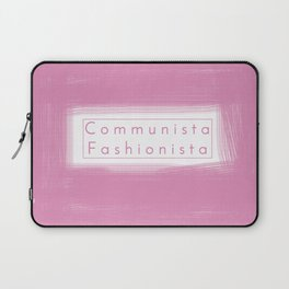 Communist Socialist Girl Laptop Sleeve