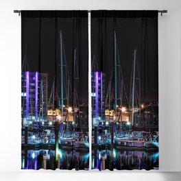 Barbican Marina By Night Blackout Curtain