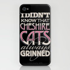 Cheshire Cats iPhone (4, 4s) Slim Case