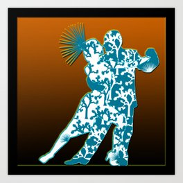 Joshua Tree Dancers by CREYES Art Print