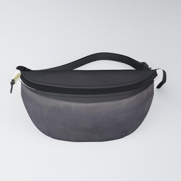 Untitled (Black on Grey) by Mark Rothko Fanny Pack