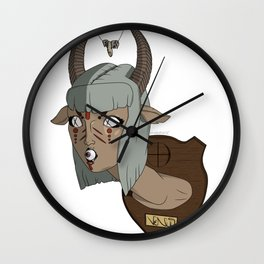 The Demon Inside Said...Take Her Now Wall Clock