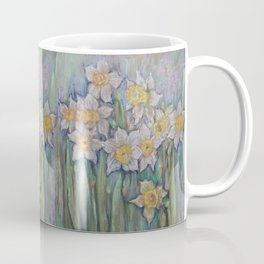 Narcissus SPRING FLOWERS IN THE GARDEN Coffee Mug