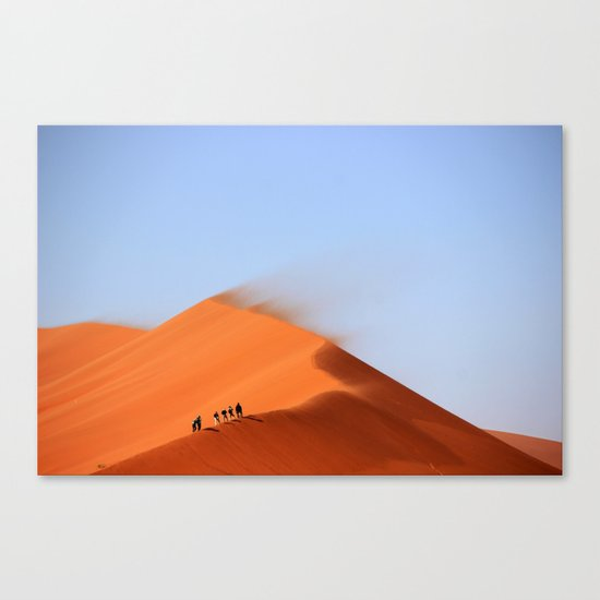 Desert hiking 4 Canvas Print