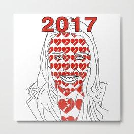 JACINDA 2017 Metal Print