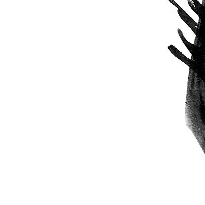 Moder black and white, minimalist ink figure yoga drawing, yoga illustration, yoga pose, yoga art Leggings