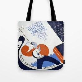 Vintage poster - Water Carnival Tote Bag