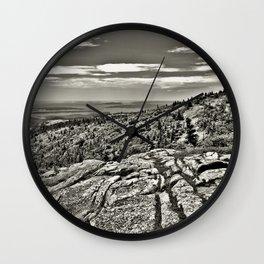 Rocky Landscape Phtography Wall Clock