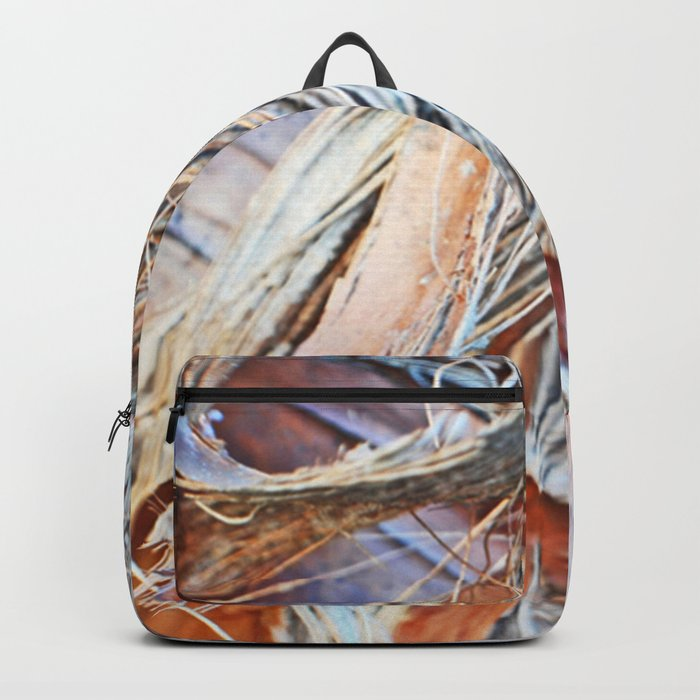 Abstract Driftwood Backpack