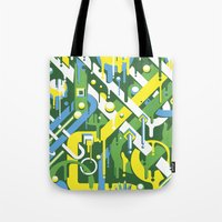 brazil Tote Bags featuring Brazil by Roberlan Borges