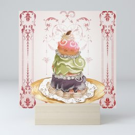 Budapest Pastry Shop Mini Art Print