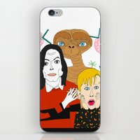 home alone iPhone & iPod Skins featuring Home alone? by Elena Éper