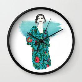 F V June 2018 Wall Clock